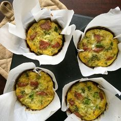 Broccoli & Sausage Egg Cups