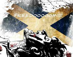 William Wallace, Braveheart by Antonio Palumbo  #freedom #braveheart #williamwallace #scotland