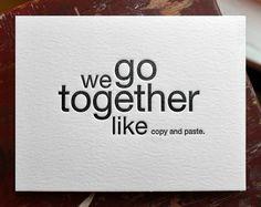 Copy & Paste.