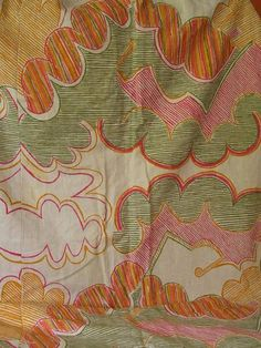 Rare Shirley Craven Design FIVE for Hull Traders, Heals Linen Fabric Curtains | eBay