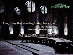 #Matrix Revolutions #Oracle #Neo #KeanuReeves