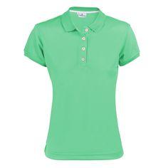 #Ropadegolf. Polo Golf algodón golf mujer.Fabricado en algodón soft swing piqué. Cuello y bocamangas elásticos. Logotipo bordado en pecho izquierdo. Tallas: S, M, L, XL.
