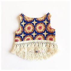 •New Print• Boho Babe High Low Crop Available in the shop! Link•in•Bio✌️•=====•=====•=====•=====•=====•===== #bohobabe #bohochic #bohostyle #croptops #babycroptop #babyfashion #kidsfashion