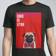 WHO IS STAR - Men's Crew - Designed by _euo using Snaptee