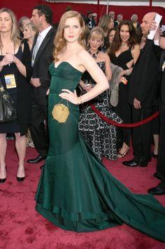 Wearing an emerald g
