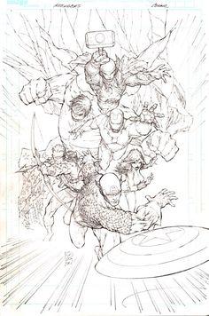 Avengers by Marc Silvestri