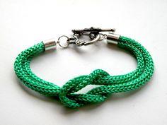 Green Rope - bransoletka w Bajobongo na DaWanda.com