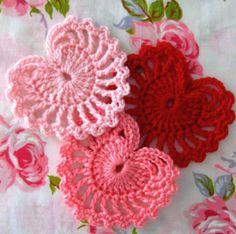 So Pretty!/ My mamma use to make these...she would crochet them the size of a throw pillow--stuff them..take pretty ribbon and run through the edges-tie at the top...beautiful for the bed/bb