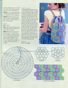 Crochet Backpack - Chart