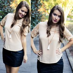 This new top is a model favorite! Get it for $30 on www.AthenaAttire.com!