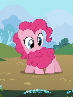 Pinkie pie.  Can we all agree that her mane and tail must taste like cotton candy? <-- yes, we can.