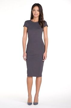 Free shipping and returns on FELICITY & COCO Seamed Pencil Dress (Nordstrom Exclusive) (Regular & Petite) at Nordstrom.com. Subtle seams accentuate the hourglass silhouette of a sinuous stretch-knit sheath contemporized by a goldtone two-way zipper traveling the full back length.
