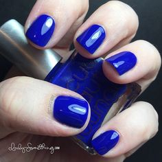Rescue Beauty Lounge IKB: 2012 - An oldie, but a goodie. I adore this bright blue polish. It was only available for a short time so I bought 3 bottles. I'm on my second bottle. I should keep that last backup bottle under lock and key! :)