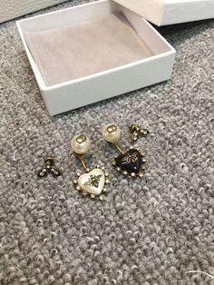 Christian Dior CD woman jewelry earrings
