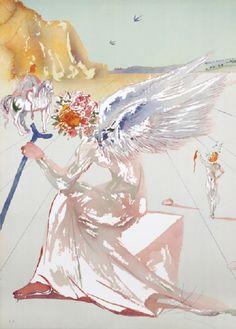 Fundação Gala-Salvador Dalí revela pinturas para cartões de Natal criadas pelo Mestre Surrealista. Veja mais em: http://semioticas1.blogspot.com.br/2014/12/natal-surreal-de-salvador-dali.html