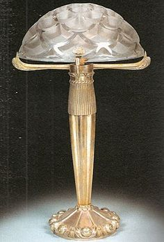Table Lamp, Rene Lalique, Art Nouveau