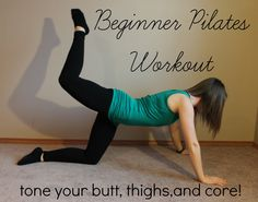 Full-length pilates workout that focus on legs, butt, and core for a long, lean, toned body!