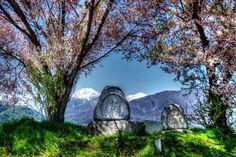 常念道祖神と北アルプス - 写真共有サイト:PHOTOHITO