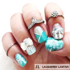 Lacquered Lawyer | Nail Art Blog: Frozen