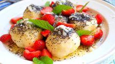Vaření s Tomem Czech Recipes, Fruit Salad, Nutella, Pancakes, Oatmeal, Veggies, Favorite Recipes, Snacks, Breakfast
