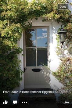 Sage front door