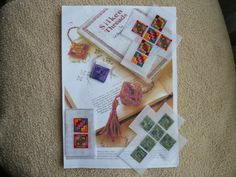 Carol's Counted Canvaswork & Needleworks, needlepoint cube ornaments
