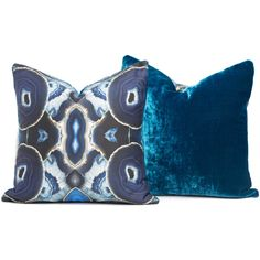 The Agate Love Pillow by Times Two Design features a printed agate pattern on the front and a solid coordinating color in silk velvet on the back.  This gorgeous and very unique throw pillow comes in 2 sizes and is the perfect touch to complete your bedding, splash some color in a chair or as a pair to add pattern on a neutral sofa.  Anywhere you choose to put them they will draw attention and be a chic and stunning addition!