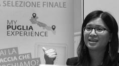 Siyu Sun durante le selezioni degli 8 testimonial di #MyPugliaExperience.