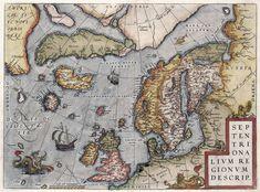 Detail of Map of Eur