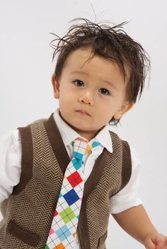 Boys Neckties in Assorted Argyles by littlevys on Etsy, $20.00