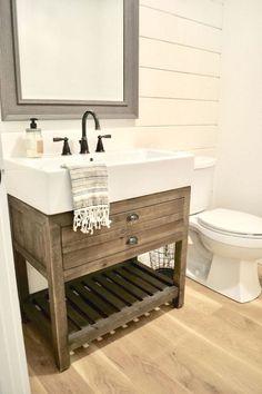 Best inspire farmhouse bathroom design and decor ideas (61)