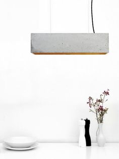 From Mondemade artist Pinklion & GANTLights: GANT - Concrete Pendent Light