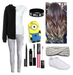 """""""20"""" by nourhazem ❤ liked on Polyvore featuring H&M, Jane Norman, BLK DNM, NIKE, NIC+ZOE, NARS Cosmetics and Lord & Berry"""
