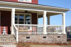 Pictures of PermaWrap PVC Porch Columns - Column Wrap