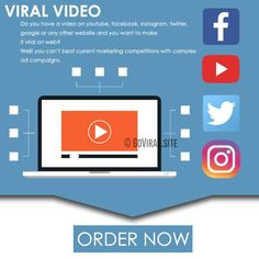 Goviral.site helps videos Go Viral with Premium Video Marketing Service. Launch Viral Video Campaigns on Top social Media sites with video sites submission.