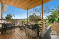 Photography by CT Creative. Real Estate Photography, Balcony, Pergola, Deck, Outdoor Structures, Creative, Outdoor Decor, Home Decor, Decoration Home