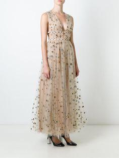 Valentino 'Star Studded' evening dress