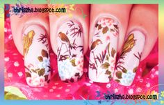 asian nail art - Google Search