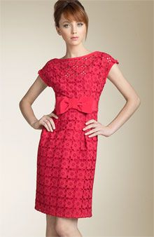 Top of dress for Marc Jacobs eyelet swag fabric