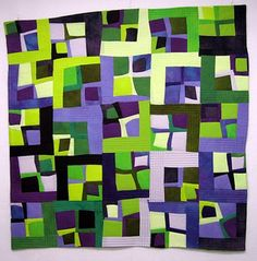 Brooke's Quilt #4 by Melody Johnson Quilts, via Flickr