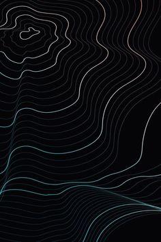Waves on black background Black Background Wallpaper, Dark Wallpaper, Black Backgrounds, Textured Background, Iphone Wallpaper Photos, Abstract Iphone Wallpaper, Wallpaper Backgrounds, Iphone Wallpapers, Images Esthétiques