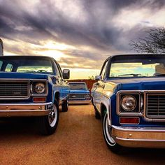 Pick one #squarebodysyndicate #squarebody #streettrucks #classictruck #c10 #the70s #oldtruck #pickuptruck #truck #squarebodys #chevy #chevrolet #gm #silverado #chevytruck #chevytrucks #pickoftheday #vintage #c10club