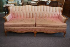 Vintage French Provincial Sofa $275