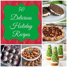 50 Delicious Christmas Recipes #Christmasrecipes #roundup
