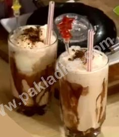 How to Make Delicious Iced Coffee, Urdu / English Recipe