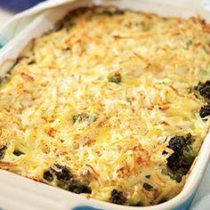 Broccoli, Beef & Potato Hotdish - EatingWell.com
