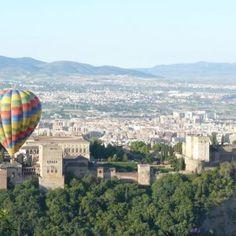 Vuelo en globo por Granada. ¡A disfrutar de la Granada más romántica!