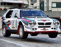 Group B - Lancia Delta S4 #rally #turbo #legend #car #groupb #martini #racing