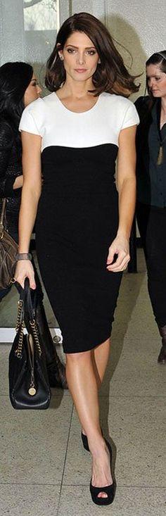 Narcisco Rodriguez dress    Ashley Greene's