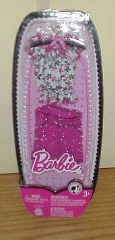 2008 ~ Barbie Fashion Fever Top & Pink Skirt  ~ New T10 #Mattel